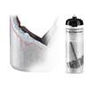 Elite Nanogelite Thermoflasche 650ml weiß/grau